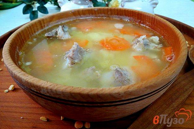 фото рецепта: Гороховый суп пюре со свининой