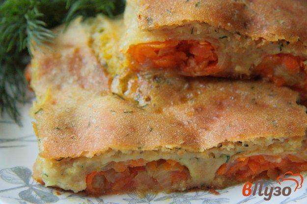 фото рецепта: Овощной пирог-запеканка с капустой
