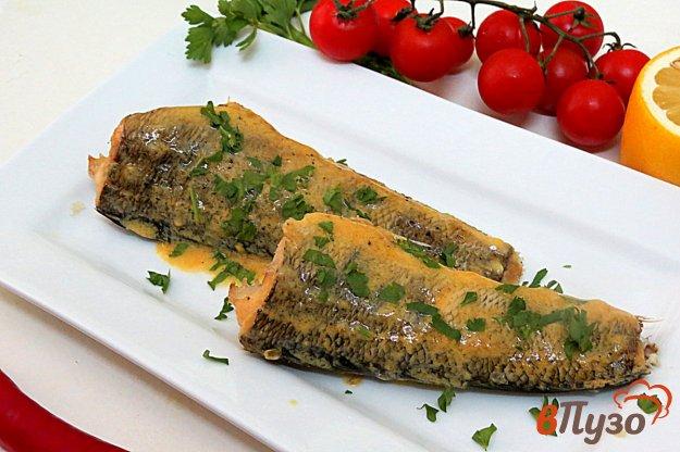 фото рецепта: Рыба паровая под лимонным соусом