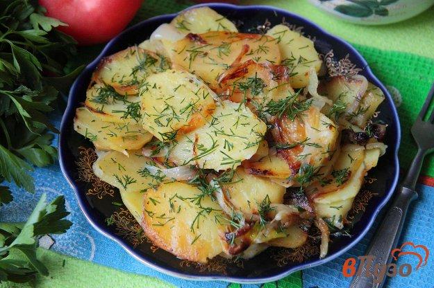 фото рецепта: Картофель с луком по-узбекски