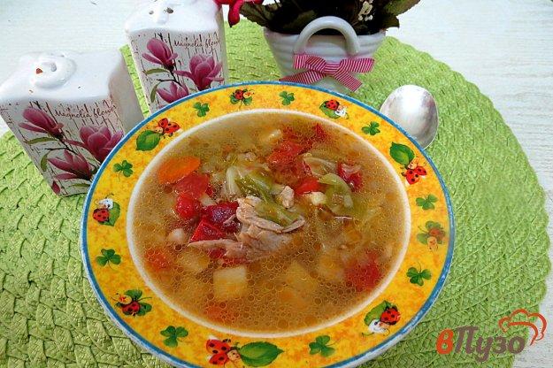 фото рецепта: Суп на свинине с овощами