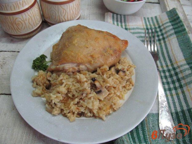 фото рецепта: Запеченные куриные бедра карри