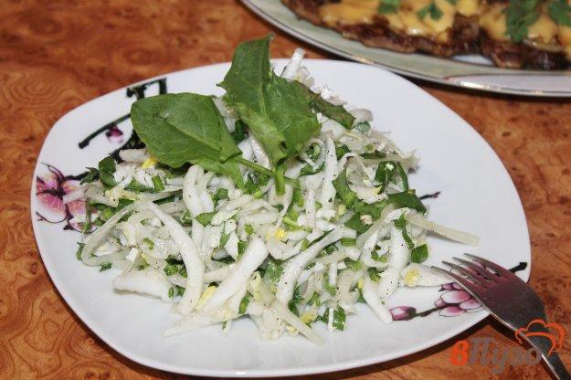 фото рецепта: Салат из пекинской капусты и щавеля