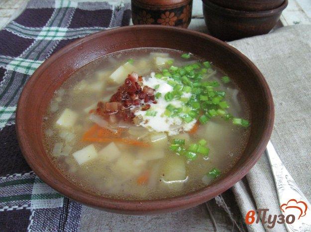фото рецепта: Щи с капустой по-корейски
