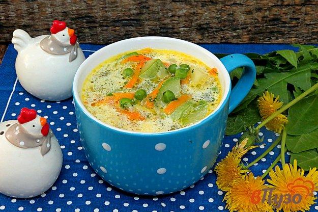фото рецепта: Суп с кабачком и сливками
