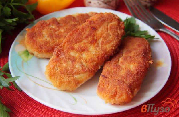 фото рецепта: Куриные палочки с сыром