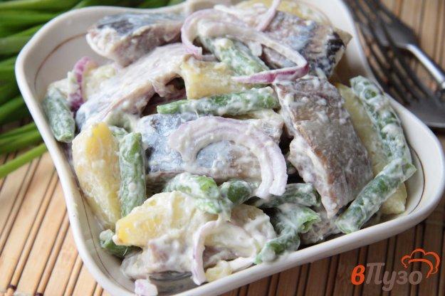 фото рецепта: Датский салат с сельдью