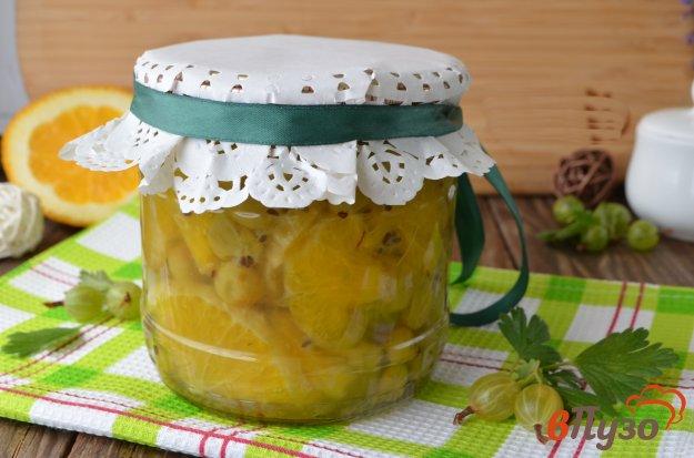 фото рецепта: Варенье из апельсина и крыжовника