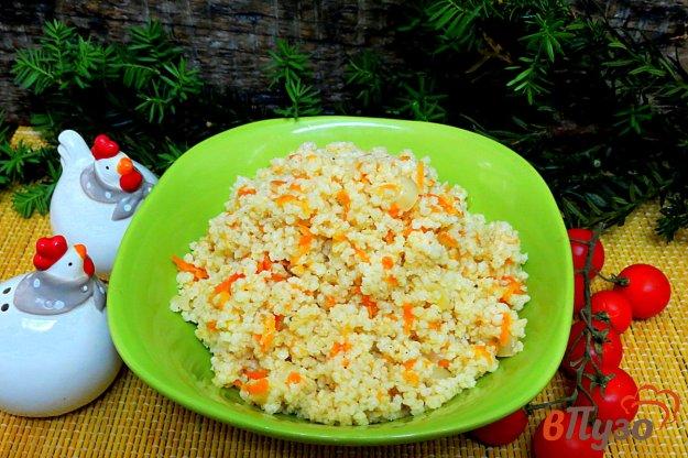 фото рецепта: Пшённая каша с луком и морковью