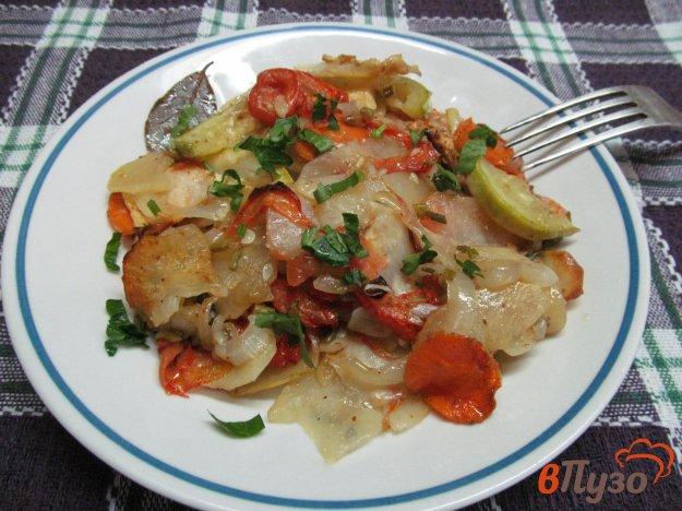 фото рецепта: Запеченное овощное ассорти