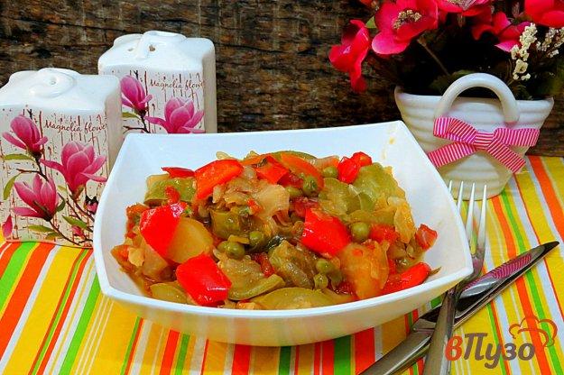 фото рецепта: Рагу овощное без мяса