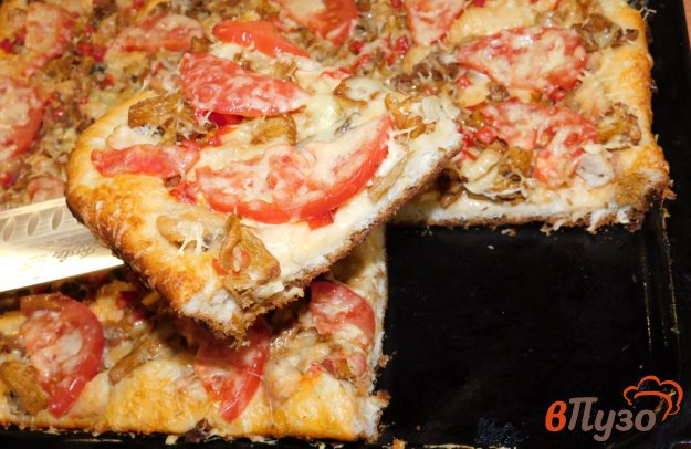 фото рецепта: Пицца по-домашнему