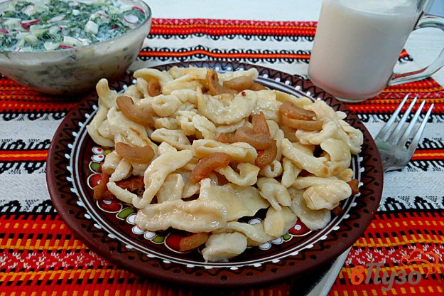 фото рецепта: Галушки по- украински
