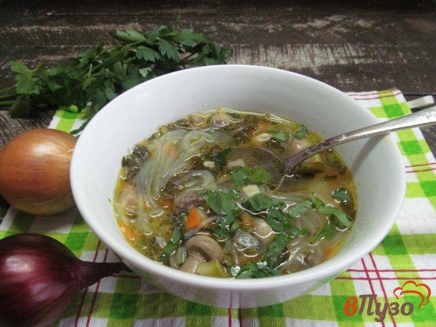 фото рецепта: Суп с грибной поджаркой