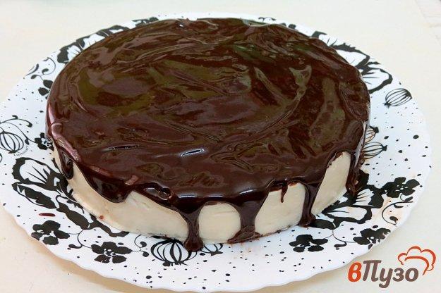 фото рецепта: Шоколадная глазурь для тортов