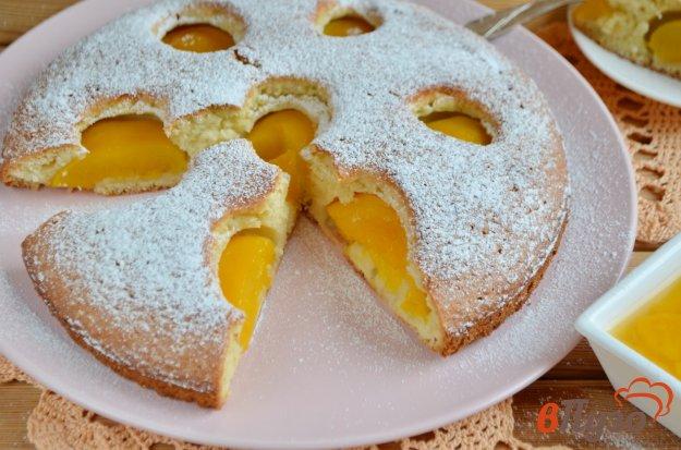 фото рецепта: Персиковый пирог