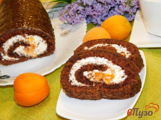 фото рецепта: Шоколадный рулет