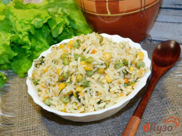 фото рецепта: Гарнир из риса с овощами