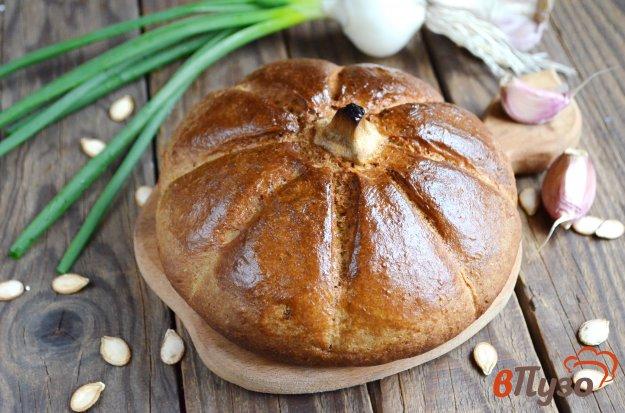 фото рецепта: Тыквенный хлеб с гречневой мукой