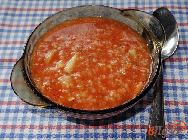 фото рецепта: Фасолевый суп с рисом