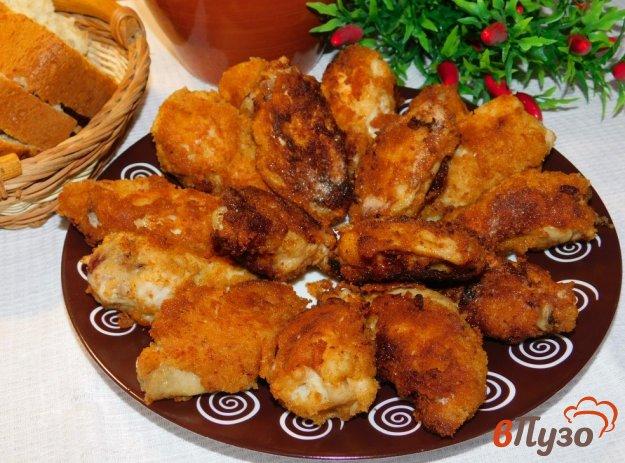 фото рецепта: Хрустящие куриные крылья