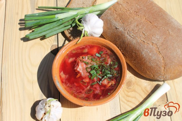 борщ с кабачком рецепт