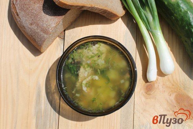 фото рецепта: Суп с кабачком, молодым картофелем и курицей