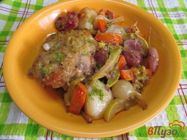 фото рецепта: Курица с овощами