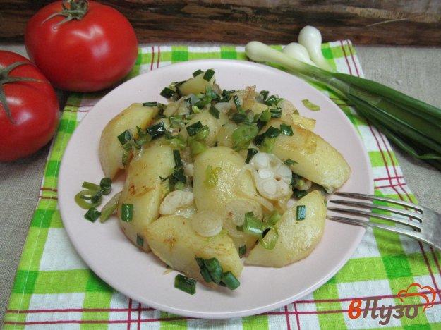 фото рецепта: Чесночный молодой картофель