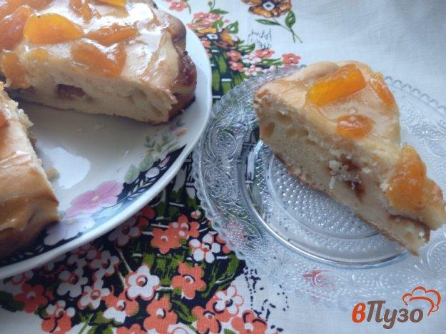 фото рецепта: Вариация на тирольский пирог с абрикосами и курагой