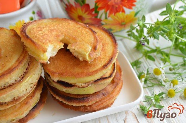 фото рецепта: Яблочные оладьи