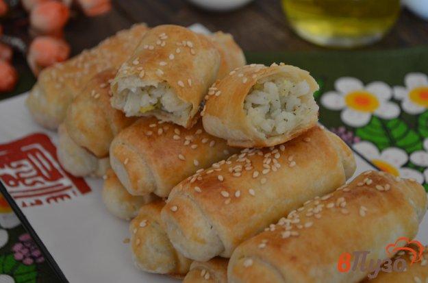 фото рецепта: Молдавские пирожки с рисом