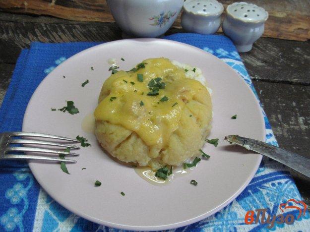 фото рецепта: Картофельная запеканка с курицей - необычная