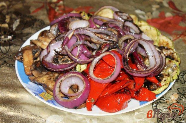 фото рецепта: Овощи гриль для пикника