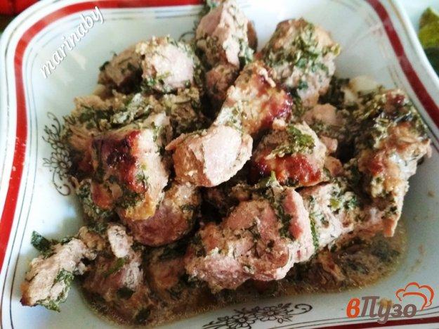 фото рецепта: Свинина по-грузински в духовке
