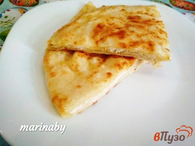 фото рецепта: Лепешки с сыром