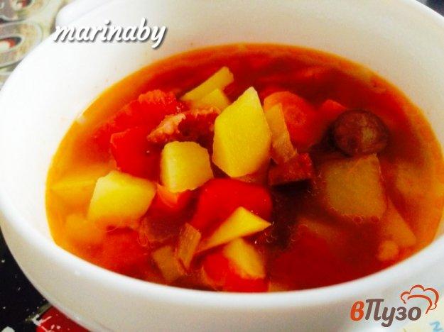 фото рецепта: Испанский острый суп