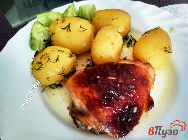 фото рецепта: Куриные бедрышки в маринаде из соуса карри