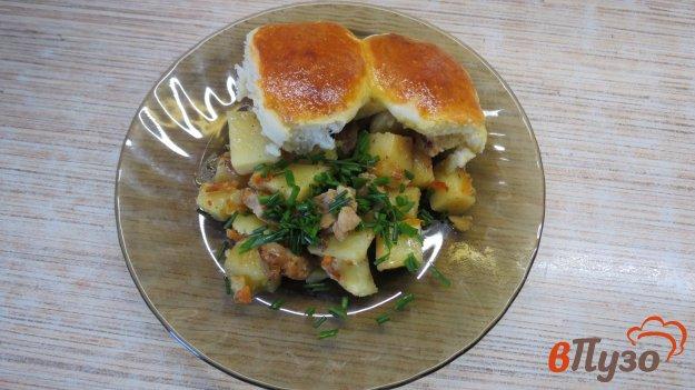 фото рецепта: Кобблер с картофелем и мясом