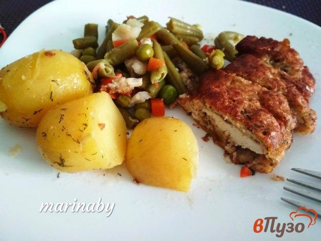 фото рецепта: Отбивные из куриного филе с прованскими травами