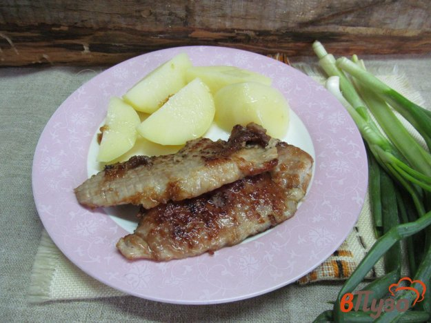 фото рецепта: Отбивные из свинины в соевом соусе с крахмалом