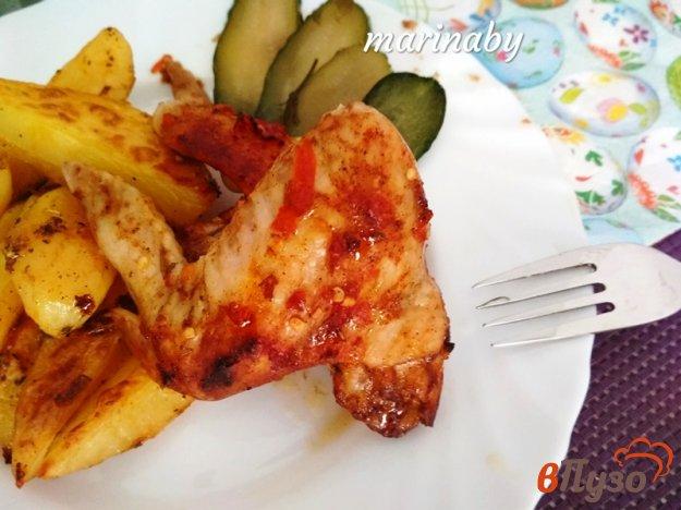 фото рецепта: Куриные крулья из духовки