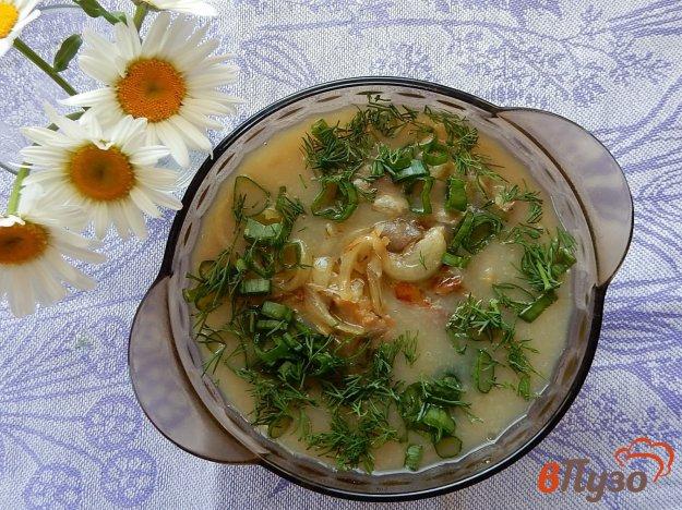фото рецепта: Суп-пюре с вешенками