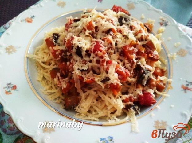 фото рецепта: Спагетти с овощым соусом