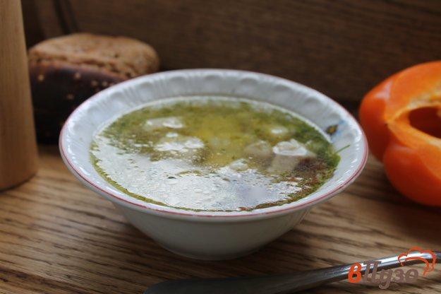 фото рецепта: Суп со свининой и кабачком