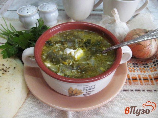 фото рецепта: Щавелевый суп