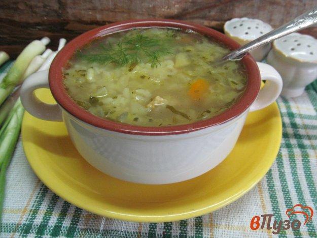 фото рецепта: Суп на свинине с овощами и рисом