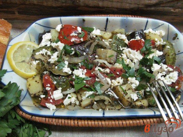 фото рецепта: Греческое овощное рагу - Бриам