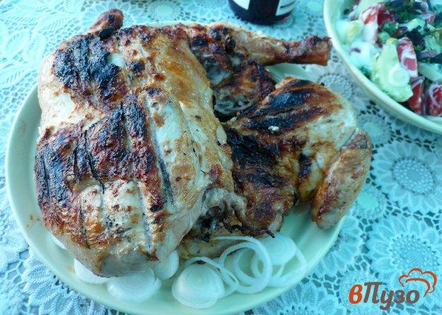 фото рецепта: Цыпленок на решетке