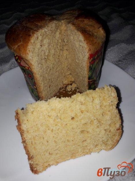 фото рецепта: Итальянский пасхальный сырный кулич